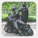 El monumento de las mujeres de Vietnam, Pegatina Cuadrada