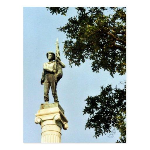 El monumento de los defensores del sur postales
