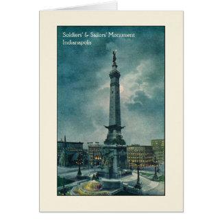 El monumento de los soldados y de los marineros de felicitaciones
