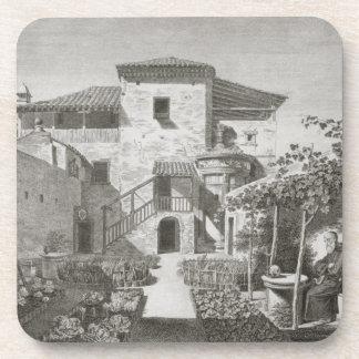 El monumento de Lysicrates en el jardín del Ca Posavasos De Bebida