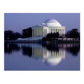 El monumento de Thomas Jefferson Postal