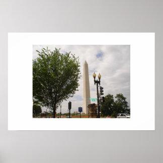 El monumento de Washington Posters