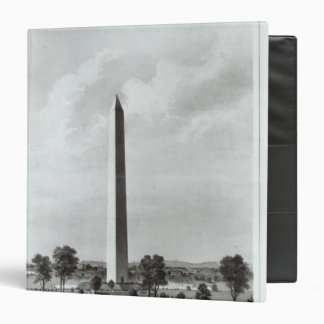 """El monumento de Washington y los alrededores Carpeta 1 1/2"""""""