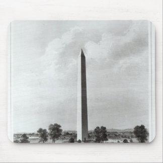 El monumento de Washington y los alrededores Alfombrillas De Ratones