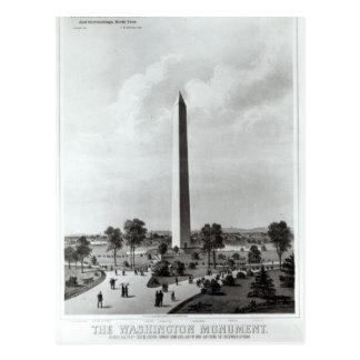 El monumento de Washington y los alrededores Postales