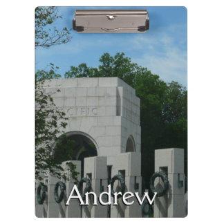 El monumento de WWII enrruella II en Washington DC