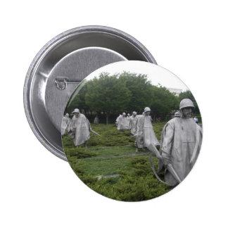 El monumento del veterano de Guerra de Corea Pins