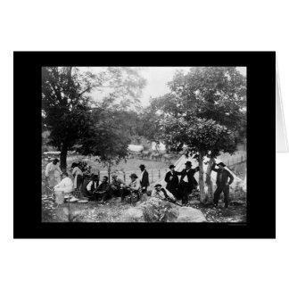 El monumento nacional del soldado en Gettysburg, Tarjeta De Felicitación