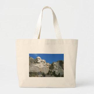 El monumento presidencial del monte Rushmore Bolsa Tela Grande