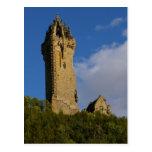 El monumento Stirling Escocia de Wallace Postal