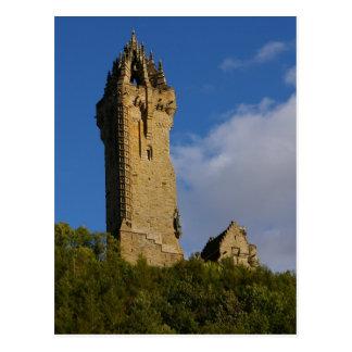 El monumento Stirling Escocia de Wallace Postales