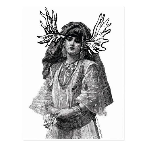 EL MOOSEDONIANS: Mujer Postal