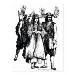 EL MOOSEDONIANS: tribu Tarjetas Postales