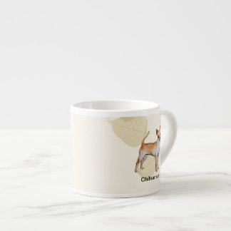 El moreno de la chihuahua deja Motiff Taza Espresso