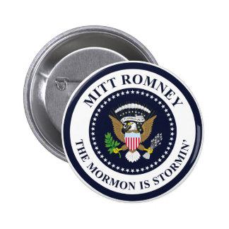 El mormón de Stormin Pin Redondo 5 Cm