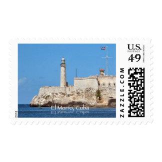 El Morro Castle, Cuba Stamps