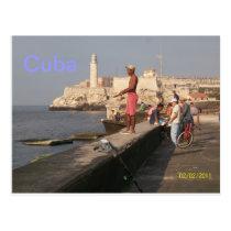 El Morro Castle, Cuba Postcard