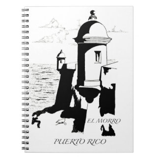 EL Morro, cuaderno de San Juan, Puerto Rico