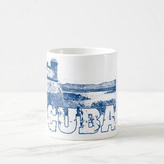 EL MORRO CUBA CLASSIC WHITE COFFEE MUG
