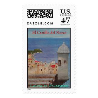 el morro, El Castillo del Morro, Lolita R. O'Co... Postage