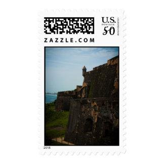 El Morro Fort in Puerto Rico Postage