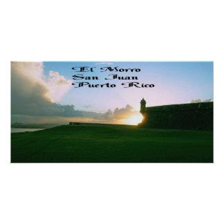 El Morro Fort, San Juan Puerto Rico Card