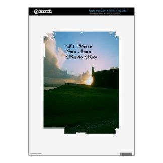 El Morro Fort, San Juan Puerto Rico Decal For iPad 3