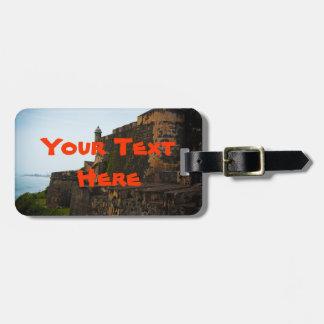 El Morro Fortress Luggage Tag