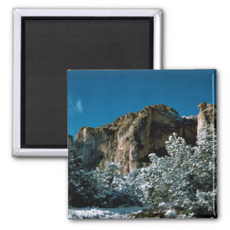 El Morro National Monument 2 Inch Square Magnet