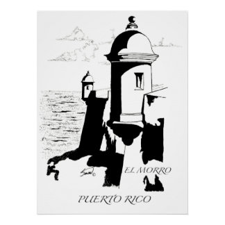 El Morro Poster