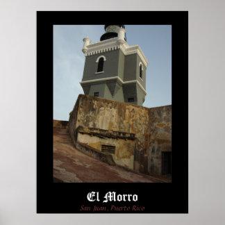 EL Morro, poster de San Juan, Puerto Rico