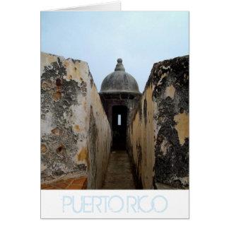 El Morro, Puerto Rico Card