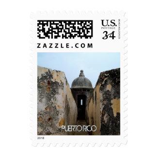 El Morro, Puerto Rico Postage