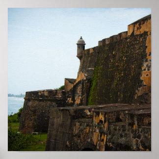 El Morro Puerto Rico Poster
