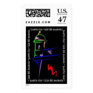 El Morro Puerto Rico Stamp
