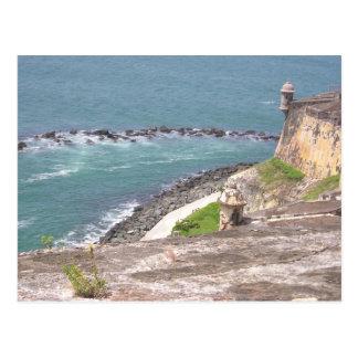 EL Morro, Puerto Rico Tarjeta Postal