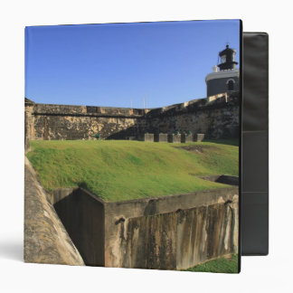 El Morro, San Felipe Castle, Drawbridge, front 3 Ring Binders