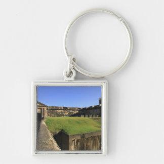 El Morro, San Felipe Castle, Drawbridge, front Keychain