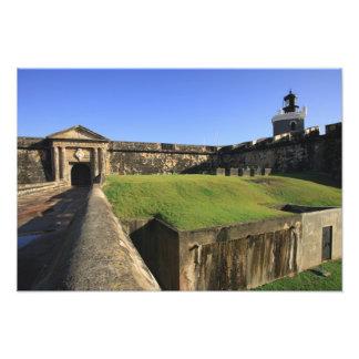 El Morro, San Felipe Castle, Drawbridge, front Photo Print