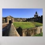 El Morro, San Felipe Castle, Drawbridge, front Poster