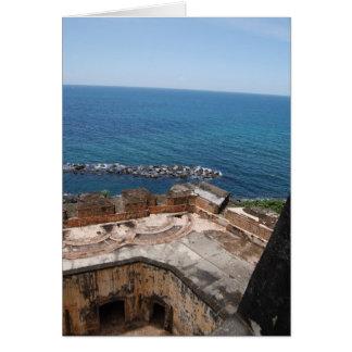 El Morro, San Juan, Puerto Rico Card