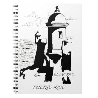 El Morro, San Juan, Puerto Rico Notebook