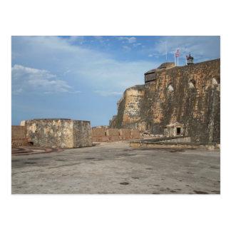 El Morro San Juan Puerto Rico Postcard