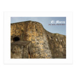 EL Morro, San Juan, Puerto Rico Tarjeta Postal