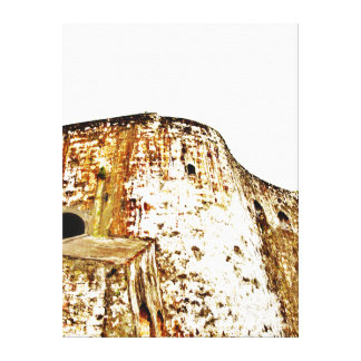 EL Morro, San Juan viejo, banda - lona envuelta 22 Impresión En Lienzo Estirada