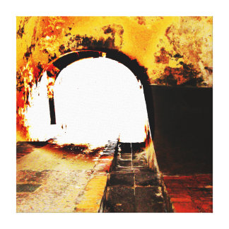 EL Morro, San Juan viejo, banda - lona envuelta 22 Impresiones En Lona Estiradas