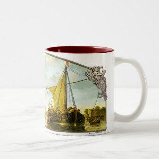 El Mosa en Dordrecht - taza de café