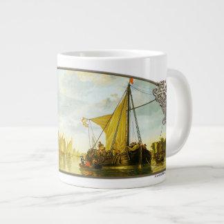 El Mosa en Dordrecht - taza enorme Taza Grande