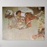 El mosaico de Alexander Póster