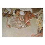 El mosaico de Alexander Tarjeta